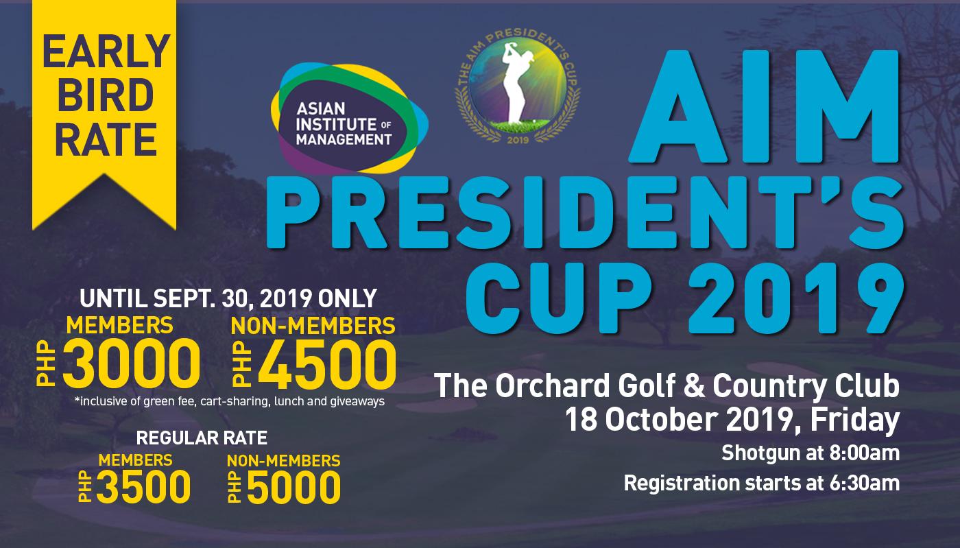 AIM President's Cup 2019
