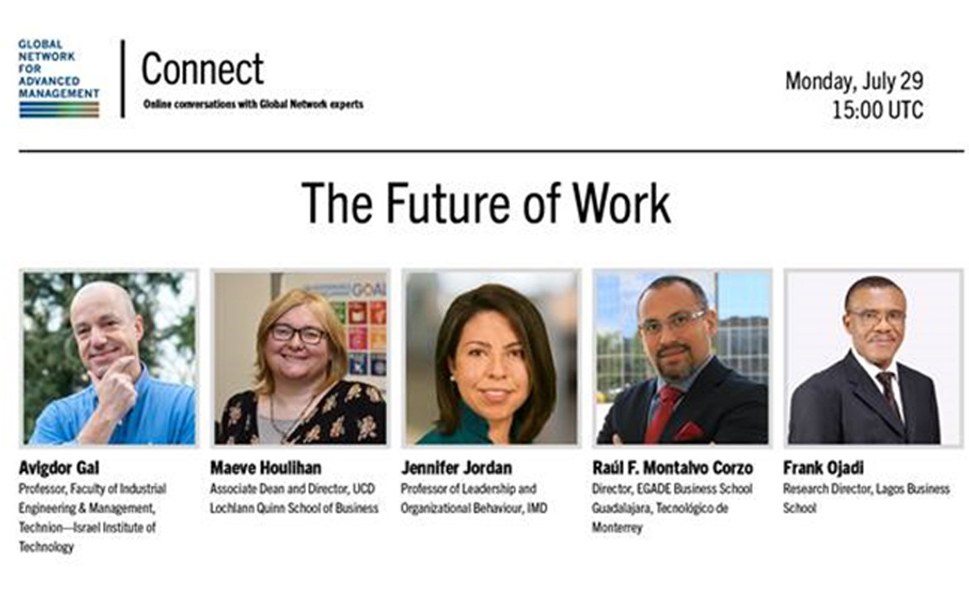 Global Network Connect: The Future of Work
