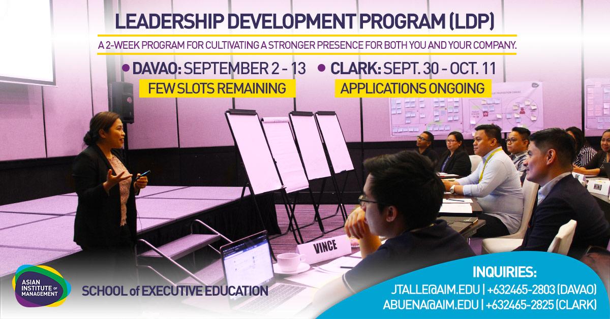 Leadership Development Program (LDP) in Clark, Pampanga