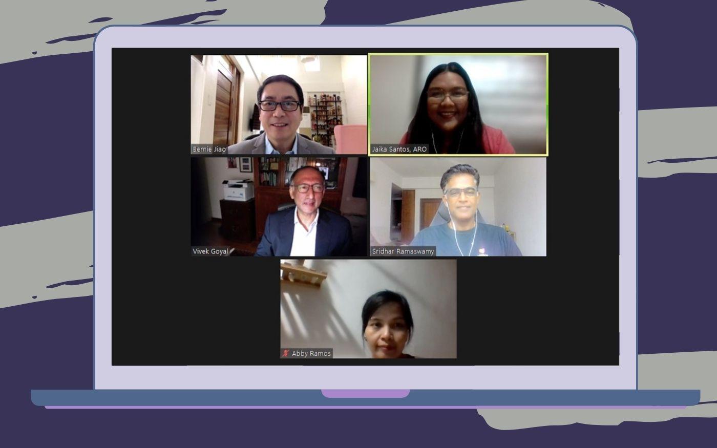 Alumni Hour with Network of AIM Alumni Singapore (NAIMAS) Leaders